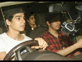 Ishaan and Jhanvi drove in to the party togetherShahid is reportedly upset with Ishaan for being spotted with JhanviIshaan will soon be seen in Majid Majidi'...