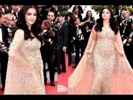 Aishwarya Rai Bachchan celebrated 15 years of glory at the prestigious Cannes Film Festival. The beauty queen looked stunning as she walked the red carpet in...