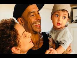 Bollywood actor Kangana Ranaut loves spending time with her little nephew Prithvi Raj and looks like the kid is also more than happy with his playtime with t...