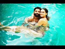 Actor and filmmaker Farhan Akhtar shared a photo with girlfriend, television host and singerShibani Dandekar, on Sunday. The two are seen enjoying a relaxed ...