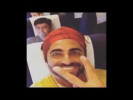 watch Ayushmann Parineeti lands in Goa