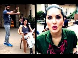 sunny leon delivered several superhit item numbers is certainly afraid of snakes. Recently, she shared a video which definitely proves the same.With her Inst...