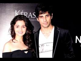 Alia Bhatt has time and again been linked with actor Sidharth Malhotra, but the actress says he is just a