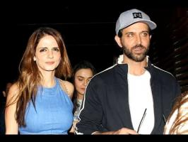 Hrithik Roshan who has been spotted a lot with Sussanne Khan lately. The ex-couple has made it clear time and again and none of the love is lost between them...