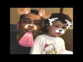 India's limited-overs captain Mahendra Singh Dhoni is currently enjoying his break with his family and on Monday, he uploaded a video of himself with his one...