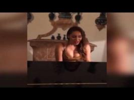 sofiahayat Playing piano and sung For Best Friend