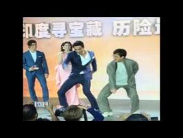 action-comedy superstar was making a promotional appearance for his upcoming film Kung Fu Yoga, along with his Indian co-star Sonu Sood.Sood then convinced J...