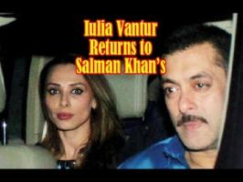 It's been almost a month since Iulia Vantur & Salman Khan haven't seen each other. brought to you that Iulia Vantur had flown back to her home Romania, as he...