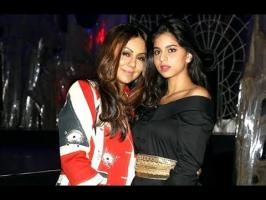 Suhana is pursuing her schooling in London, she will be shooting for a magazine soon. At the recently held Hello! Hall of Fame Awards, Gauri made the interes...