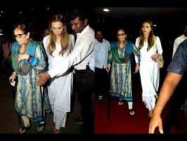 Salman Khan-Iulia Vantur love story, right from the Mumbai airport where the drama unfolded a few minutes ago. If what we saw is any indication, Iulia seems ...