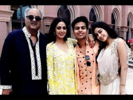 Sridevi's daughter Jhanvi Kapoor has yet again made news and this time, it is for a family picture that's going viral. In the picture, we see Boney Kapoor, S...