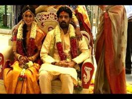 Srinivasa Chakravarthy aka JD Chakravarthy got hitched to Anukrithi Sharma, protagonist of his shelved directorial venture, Sridevi, in a hush-hush wedding c...
