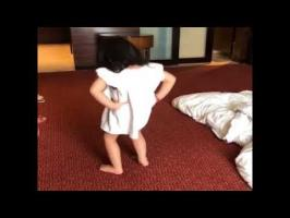 Ms Dhoni Daughter Ziva Dancing Cute Video