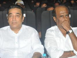 Kamal Hassan has said that K Balachander blunted the ego between him and Rajinikanth.