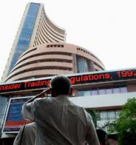 The BSE benchmark Sensex today fell by over 14 points in the opening trade due to profit-booking at higher levels amid a weakening Asian trend.