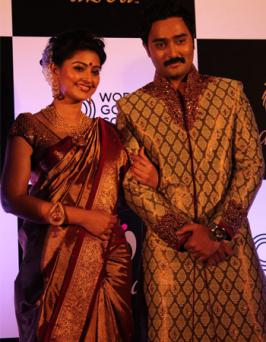 Sneha & Prasanna at WGC Jewellery Photos