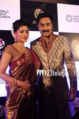Sneha ,Prasanna Launches World Gold Council Jewellery