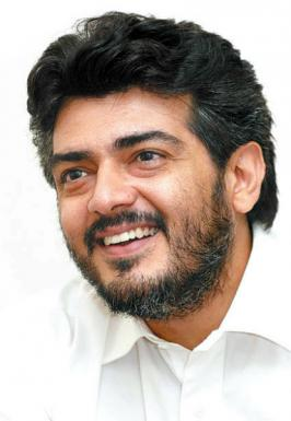 Ajith Kumar (born 1 May 1971) is an Indian popular film actor who works mainly in Tamil cinema. He began his career as a supporting actor in a Telugu film before gaining critical recognition in the Tamil thriller Aasai (1995).
