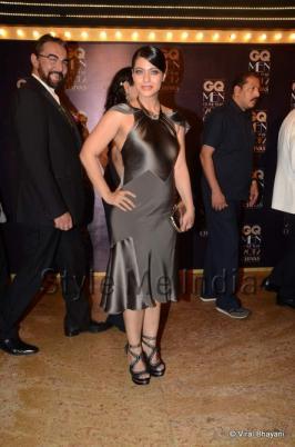 Kajol and Ajay Devgan at GQ Men of the Year Awards 2012.