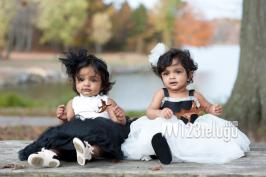 Tollywood actor mohan babu recently done his son vishnu and daughter in law veronika\'s twins Viviana and Ariana birthday very grandly. Here you can get their latest photos of birthday. So Cute