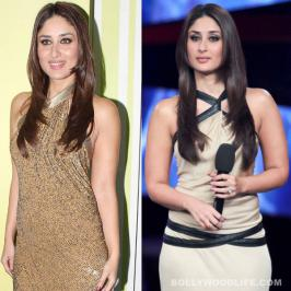 Bebo is glowing like never before these days. And we wonder if it's the shaadi ka effect that has brought about a new radiance on her face Kareena Kapoor looked like such a diva as she made a glamorous appearance at the Bigg Boss 6 hous
