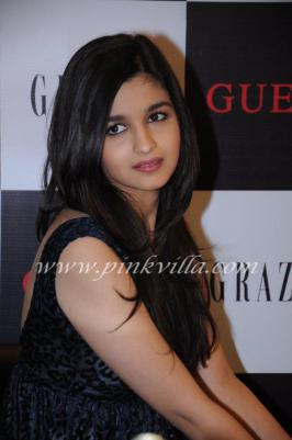 Alia Bhatt unveils the Grazia party edition