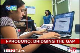 A team of young lawyers is trying to make a difference. They are helping NGOs access specialised legal help and that too free of cost. CNN-IBN met up with some of them to find out more about their \'I-Probono\' initiative.