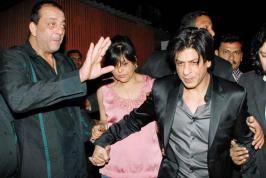 The year 2012 proved to be a good year for Bollywood films at the box office but the stars made the headlines with their off-screen deeds too. Shah Rukh Khan got into a fight with filmmaker Shirish Kunder in the beginning of the year.