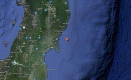 A semi-strong 5.0 earthquake shook off the north-eastern coast of Japan today, December 21, 2012. The quake centered 54km SSE of Ofunato, Japan at 08:07:18 UTC.