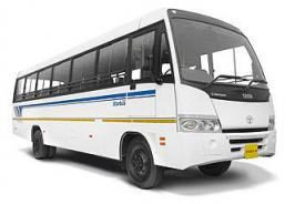Contract buses return today, to have windows with 50% visibility - Contract carriage buses, which had gone off Delhi roads on Monday, will start plying again from Wednesday.