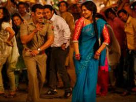 Salman Khan, Sonakshi Sinha Dabangg 2 continued to do business at Indian Box Office Monday, Tuesday, with its five day collection crossing Rs 100 crores.