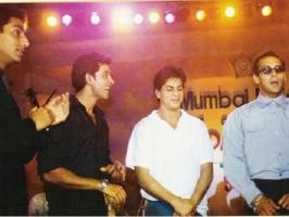 Bollywood superstar Salman Khan defended his rival Shahrukh Khan on Bigg Boss 6 after Imam Siddique. See rare pictures of Salman Khan.