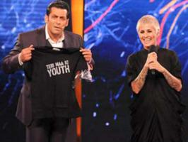 Celebrity hair-stylist Sapna Bhavnani, who was evicted from the Bigg Boss 6 house, says that reality show host Salman Khan is not a god.