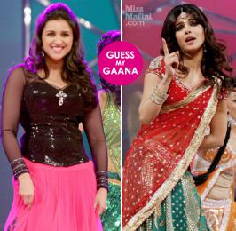 Parineeti and Priyanka Chopra at Umang Did you have fun guessingwhat item songsKatrina Kaifwas dancing toat the police awards? I thought so! Which