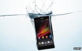 Sony has announced a new smartphone that can be used in the shower or bath without the risk of damage. This water-resistant feature is relatively common in Japan, but has not been included in many top-end smartphones released elsewhere. The Xperia Z can also record HDR (high dynamic range) video, a facility borrowed from its camera division. One analyst said it was evidence of Sony Mobile making progress but added \