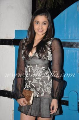 Alia Bhatt at Dabboo Ratnani\'s calendar launch
