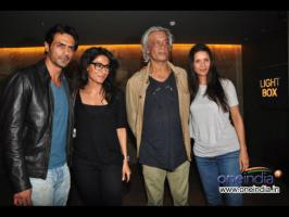 Bollywood stars like Hrithik Roshan, Preity Zinta attends Arjun Rampal movie Inkaar\'s special screening.