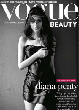 Diana Penty Hot On The Cover of Vogue Magazine Jan 2013