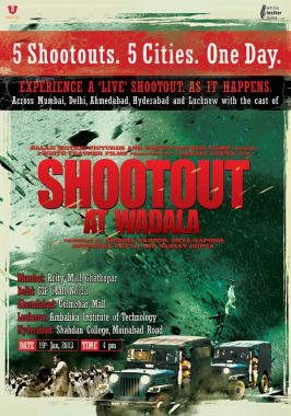 Shootout At Wadala Movie Trailer Out.The film features John Abraham, Anil Kapoor, Kangna Ranaut, Tusshar Kapoor and Sonu Sood. The film hit the screens 1st May 2013.For more bollywood news and for latest bollywood news,upcoming bollywood movie news visit movies.infoonlinepages.com