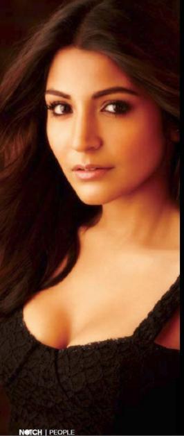 Anushka Sharma Hot Photos From Notch Jan 2013 Magazine Coverpage