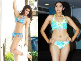 The bikini fight between Ragini Dwivedi and Aindrita Ray appeared to be a publicity gimmick.