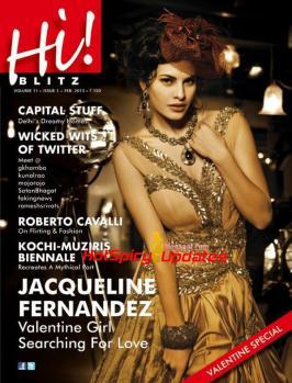 Jacqueline Fernandez On The Cover Of Hi! BLITZ February 2013 ~ HOTSPICYUPDATES