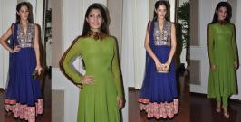 Nargis Fakhri and Jacqueline Fernandez were spotted together at an event in