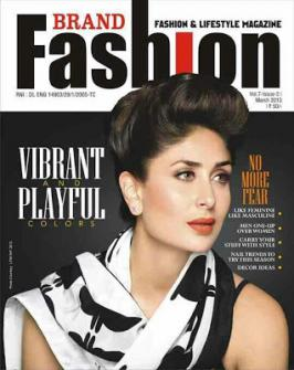 Kareena Kapoor On Brand Fashion Magazine Mar 2013 Coverpage