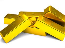 Gold futures were seen trading lower on Wednesday tracking weak global cues as the sentiment was affected after robust US economic outlook.