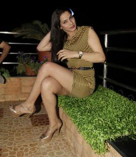 Sexy B Town Girl at Anil Sharma Birthday Party Event