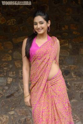 Ragini Dwivedi is looking pretty and spicy in saree. Sexy figure from south.