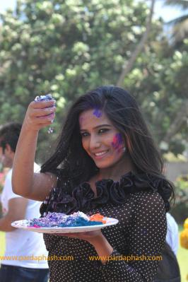 Exclusive: Poonam Pandey Promotes Waterless Holi  Gallery at PardaPhash