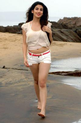 Parul Gulati in tiny shorts at beach Latest photoshoot  Gallery at PardaPhash