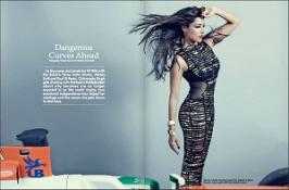 Chitrangada Singh on Hi! Blitz Magazine India April 2013 Coverpage